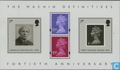 Machin-timbres 40 ans