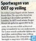 20081115 Sportwagen van 007 op veiling