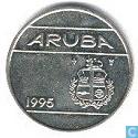 Aruba 25 Cent 1995