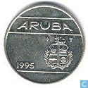 Aruba 25 cents 1995