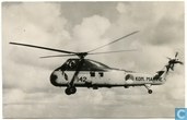 Sikorski S 58 helicopter voor Opsporings- en reddingsdienst van de Marineluchtvaartdienst