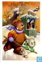 Kerstkaart 2008 - 2009 - Uitgeverij Panda