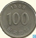 Zuid-Korea 100 won 1988