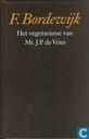 Het vegetarisme van Mr. J. P. de Vries