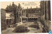 Malines - cour du Palais de Justice - Mechelen - Justitiepaleis
