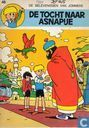 Comic Books - Jeremy and Frankie - De tocht naar Asnapije