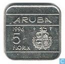 Aruba 5 Florin 1996