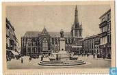 Liège - L'Université et statue d'André Dumont