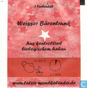 Tea bags and Tea labels - Lutzi -  3. Weisser Bärentrunk ( staat op achterkant )
