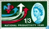 Postzegels - Groot-Brittannië [GBR] - Nationaal Productiviteitsjaar