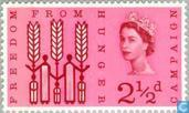 Postage Stamps - Great Britain [GBR] - Freedom From Hunger