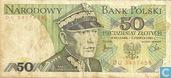 Polen 50 Zlotych 1982