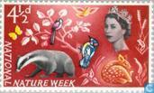 Postage Stamps - Great Britain [GBR] - National Wildlife Week