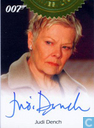 Judie Dench ( Full bleed style )