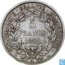 France 5 francs 1850 (A)