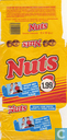Suske en wiske Nuts verpakking