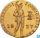 Nederland Dukaat 1827 U