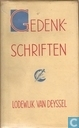 Gedenkschriften, 1864-1924