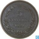 Bulgaria 5 stotinki 1881