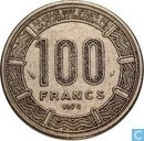 Central African Republic 100 francs 1978