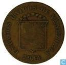 Venezuela 5 centimos 1944