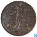 Italy 10 centesimi 1911
