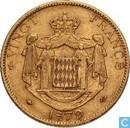 Monaco 20 francs 1879
