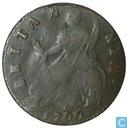 Royaume Uni ½ penny 1700