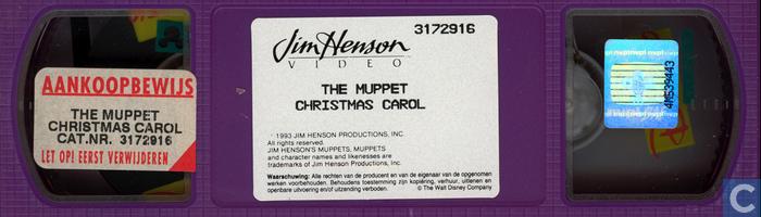 Muppet Christmas Carol Vhs.The Muppet Christmas Carol Vhs Video Tape Catawiki