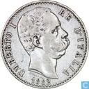 Italie 2 lire 1882