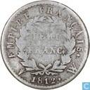 France ½ franc 1812 (W)