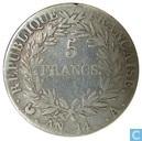 France 5 francs AN 14 (A)