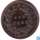 Sarawak 1 cent 1891
