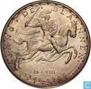 "Luxemburg 100 francs 1946 ""600th Anniversary - John the Blind"""
