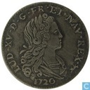 France 1/3 ecu 1720 (A - with crowned cross)