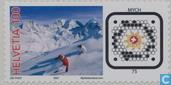 Postzegel op internet