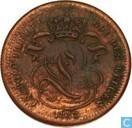 Belgium 1 centime 1832