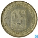 Venezuela 50 céntimos 1954