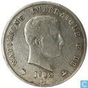 Kingdom Italy 5 lire 1812 (M)