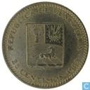 Monnaies - Vénézuela - Venezuela 25 centimos 1965