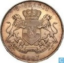 Congo Free State 5 Francs 1887