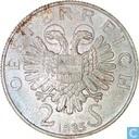 """2 Schilling Österreich 1935 """"Dr. Karl Lueger """""""