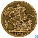 United Kingdom 1 sovereign 1872