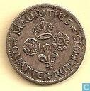 Mauritius ¼ rupee 1975