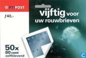 Postage Stamps - Netherlands [NLD] - Mourning Stamp (self adhesive)