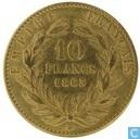 France 10 francs 1863 (BB)