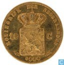 Netherlands 10 gulden 1888