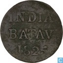 Nederlands-Indië ½ stuiver 1825