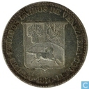 Venezuela 5 Centavo 1876