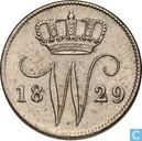 Niederlande 25 Cent 1829 (B)